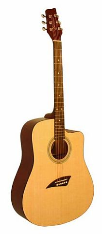 Kona Full Size Cutaway Acoustic w/10 year Warranty